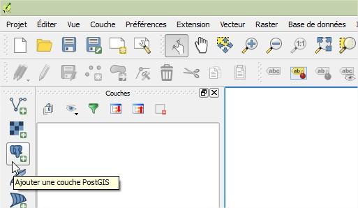 Impuls'Map - Tutoriel - Afficher Donnees Postgis dans Qgis - Ajouter Couche PostGIS