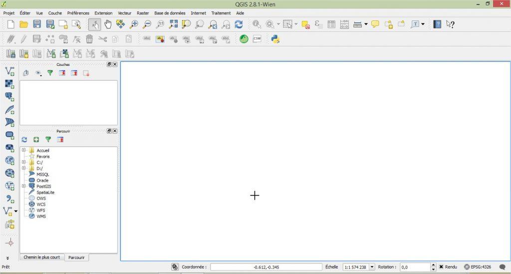 Impuls'Map - Tutoriel - Effectuer Analyse Thématique Qgis - Ouvrir Qgis