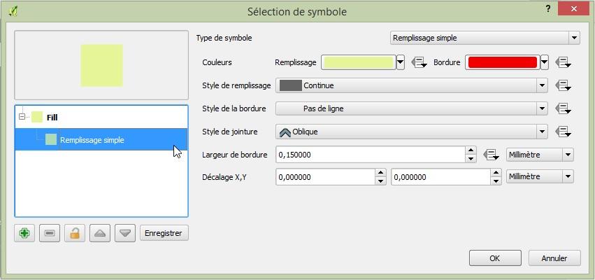Impuls'Map - Tutoriel - Effectuer Analyse Thématique Qgis - Sélection Symbologie