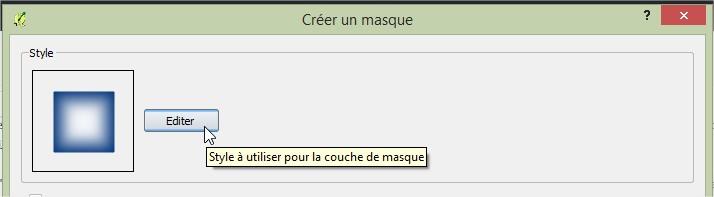 Impuls'Map - Tutoriel - Effectuer Pochoir Masque QGIS - Editer Style Masque