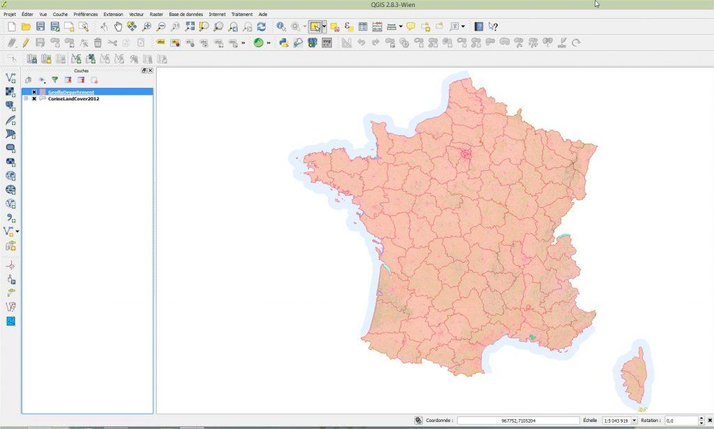 Impuls'Map - Tutoriel - Effectuer Pochoir Masque QGIS - Ouvrir Données