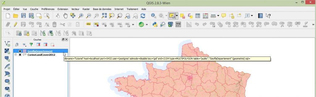 Impuls'Map - Tutoriel - Effectuer Pochoir Masque QGIS - Couche Surbrillance