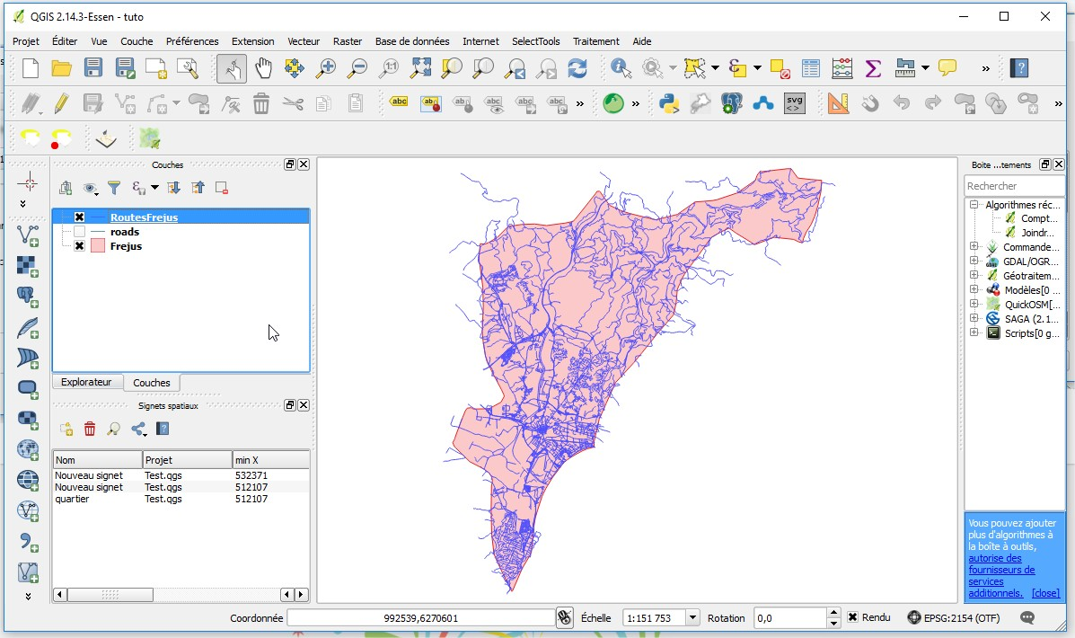 Impuls'Map - Tutoriel - Exploiter OSM QGIS - Nouvelle Couche Vecteur