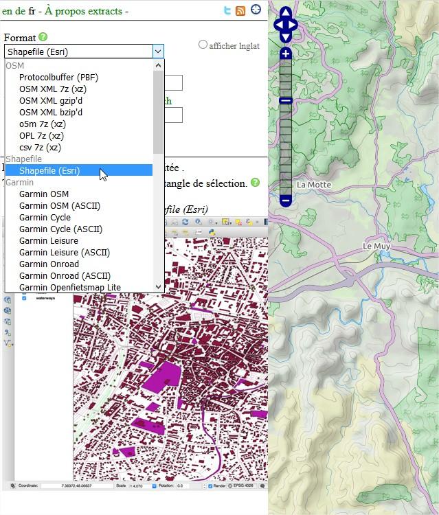 Impuls'Map - Tutoriel - Exploiter OSM QGIS - Extract BBBike Format Data